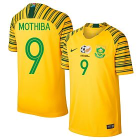 Nike South Africa Home Mothiba 9 Jersey 2019-2020 (Fan Style Printing)