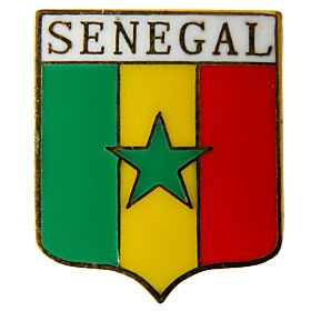Senegal Enamel Pin Badge