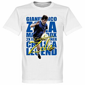 Gianfranco Zola Legend Tee - White