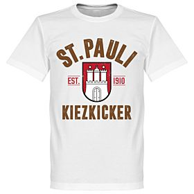 St Pauli Established Tee - White