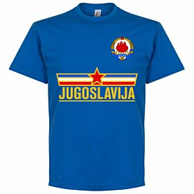 Yugoslavia Team Tee - Royal