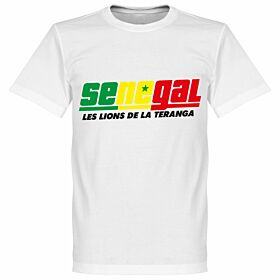 Senegal Tee - White