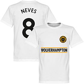 Wolverhampton Neves 8 Team Tee - White