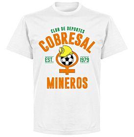 Cobresal EstablishedT-Shirt - White
