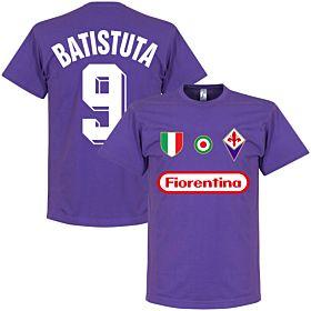 Fiorentina Batistuta 9 Team Tee - Purple