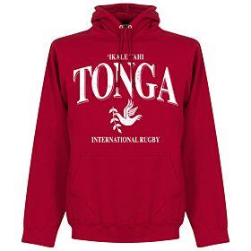 Tonga Rugby Hoodie - Red