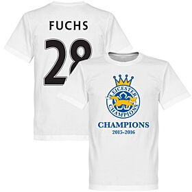 Leicester Champions Fuchs Tee - White