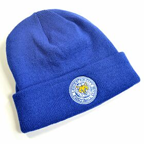 Leicester City Cuff Knitted Hat - Royal