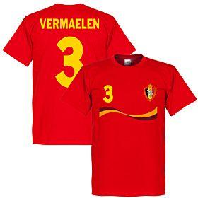 Belgium Vermaelen Tee - Red