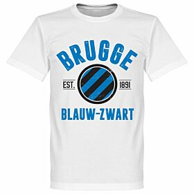 Brugge Established Tee - White
