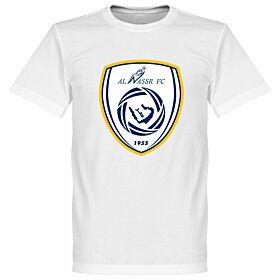 Al Nassr Logo Tee - White