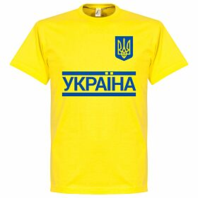 Ukraine Team Tee - Yellow