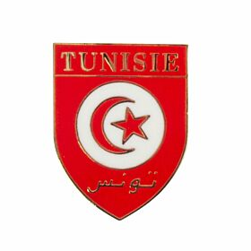 Tunisia Enamel Pin Badge