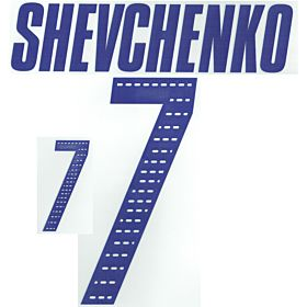Shevchenko 7 05-06 Ukraine Home Official Name and Number