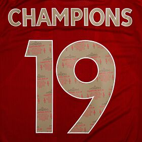Champions 19 - Liverpool League Winners Special Edition Print