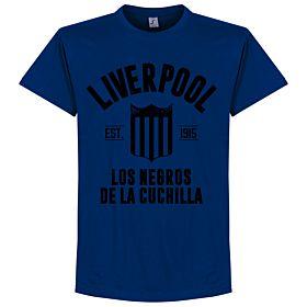 Liverpool Montevideo Established Tee - Ultramarine