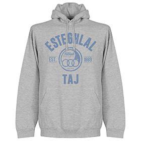 Esteghlal Established Hoodie - Grey