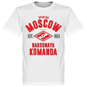 Spartak Moscow Established Tee - White
