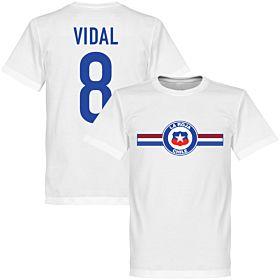 Chile Vidal Tee - White