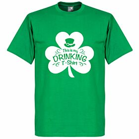 St Patricks Day Drinking Tee - Green