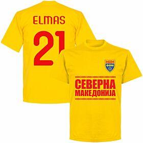North Macedonia Elmas 21 Team T-shirt - Yellow