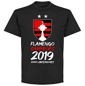 Flamengo 2019 Copa Libertadores Champions T-Shirt - Black