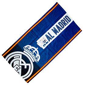 Real Madrid Stripe Towel - (70cm x 140cm)