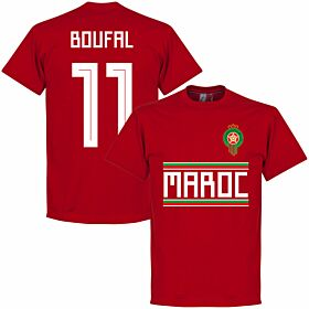 Morocco Boufal 11 Team Tee - Red