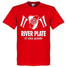 River Plate El Mas Grande Tee - Red