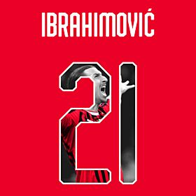 Ibrahimovic 21 (Gallery Style) 19-20 AC Milan Home