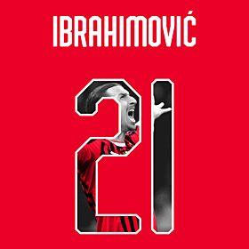 Ibrahimovic 21 (Gallery Style) 19-20 AC Milan Home