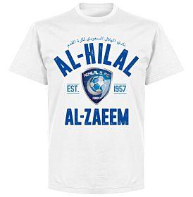 Al-Hilal Established T-Shirt - White