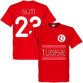 Tunisia Sliti 23 Team Tee - Red