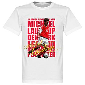 Michael Laudrup Legend Tee - White