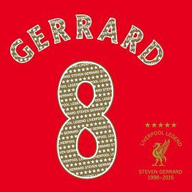 Gerrard 8 Legend Printing + Transfer