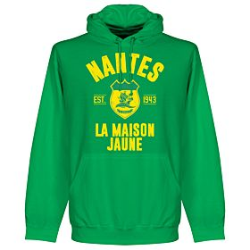 Nantes Established Hoodie - Green