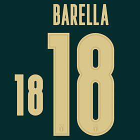 Barella 18 (Official Printing) - 19-20 Italy 3rd Renaissance