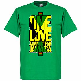 One Love Jammin For Jamaica Tee - Green