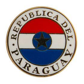 Paraguay Enamel Pin Badge
