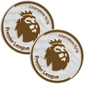 KIDS EPL Champions Patch Pair 2016 / 2017 - Leicester City (65mm)