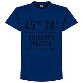 Inter Giuseppe Meazza Coordinates Tee - Ultra Marine