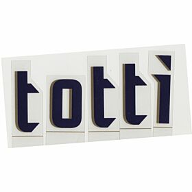 Totti (Name Only) 06-07 Italy Away Official Name