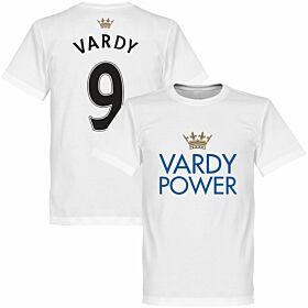 Vardy Power Tee - White