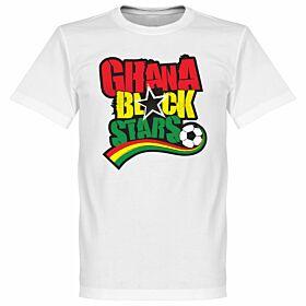 Ghana Black Stars Tee - White
