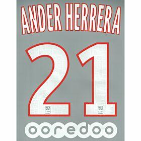 Ander Herrera 21 + Ooredoo Sponsor