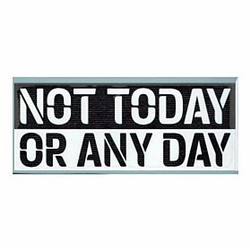 EFL Not Today Or Any Day Anti-Racism Patch