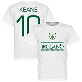 Ireland Keane 10 Team Tee - White