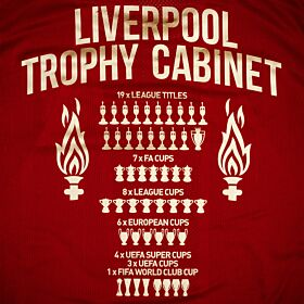 Liverpool Trophy Cabinet Printing