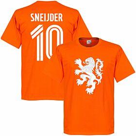 Holland Sneijder Lion Tee - Orange
