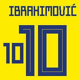 Ibrahimovic 10 (Official Printing)